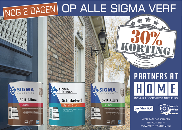 advertentiesigma nog 2 dagen