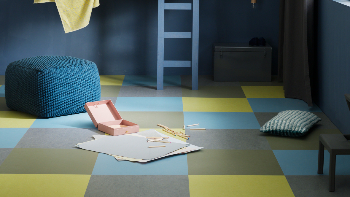 Marmoleum Vloer Verven : Marmoleum click vloeren van forbo noord west interieurs
