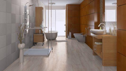Pvc vloer voor in de badkamer noord west interieurs
