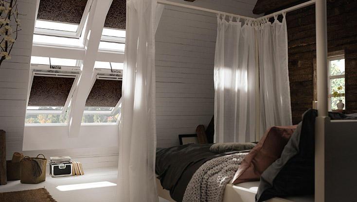 Rolgordijnen Slaapkamer 13 : Houd uw slaapkamer koel met velux buitenzonwering noord west